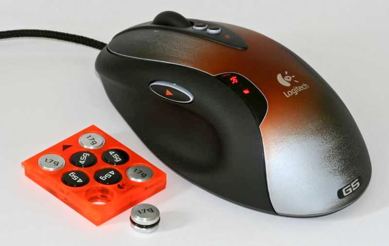 Myszka dla gracza - wyważanie