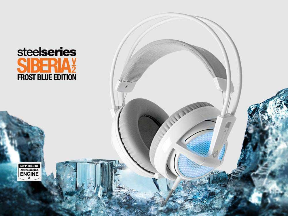 Słuchawki dla graczy Steelseries Siberia