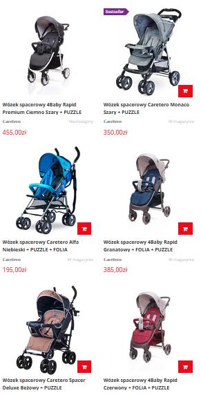 Spacerówki dla dzieci