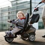 Nauka jazdy na rowerze – zacznij od trójkołowca